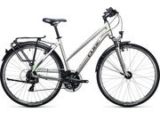 CUBE Touring Womens 46cm silver/flashgreen  click to zoom image