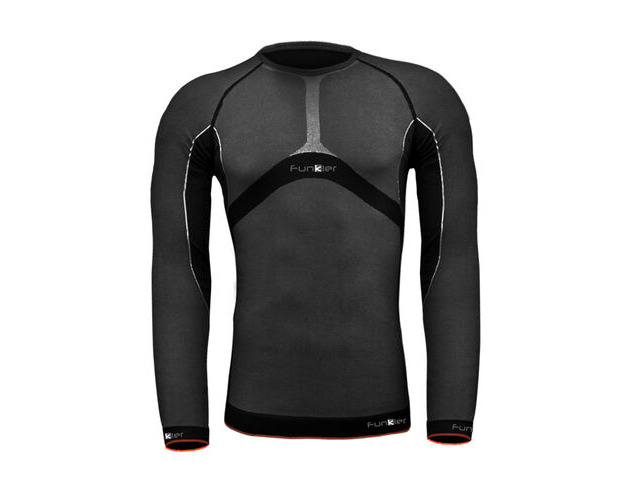 FUNKIER BASE LAYER-JERSEY THERMAL SEAMLESS LONG SLEEVE click to zoom image